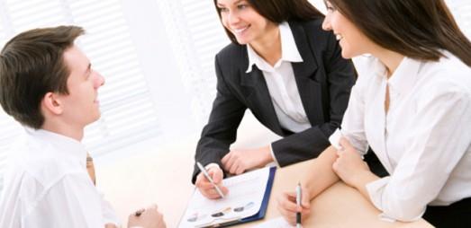Business meeting business women